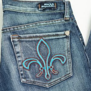 ROCK & REPUBLIC Roth Bootcut Jeans 29